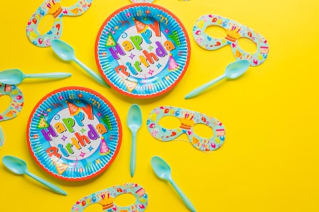 Plaques et masques pour le carnaval