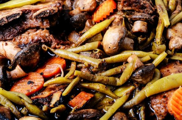 Plat bœuf bourguignon
