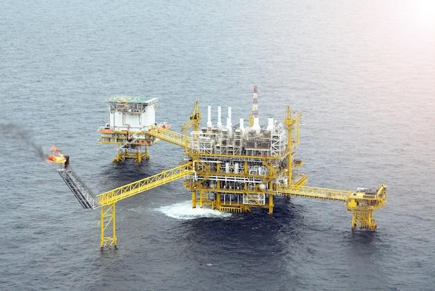 Plate-forme de plate-forme pétrolière offshore
