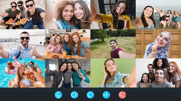 Plateforme d'appel vidéo d'entreprise