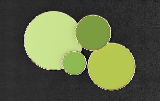 Plates-formes rendues pour la présentation du produit