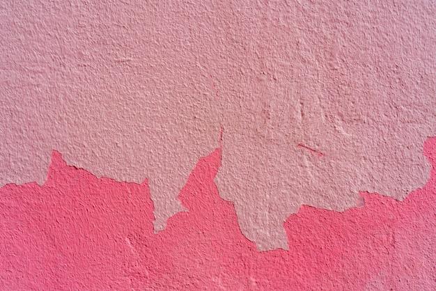 Plâtre rugueux rose. abstrait.