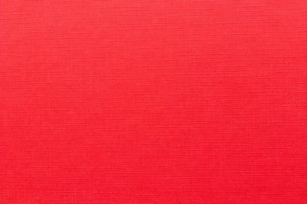 Plein cadre de couverture de livre rouge vierge