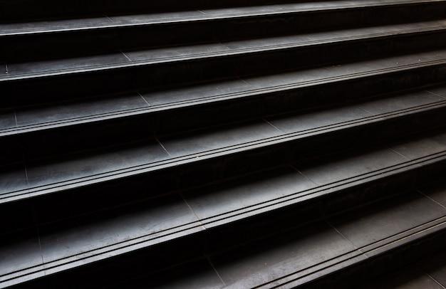 Plein cadre à l'escalier