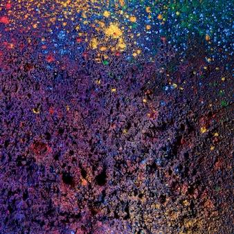 Plein cadre de fond de couleur poudre sombre