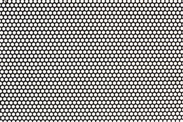Plein cadre de grille métallique