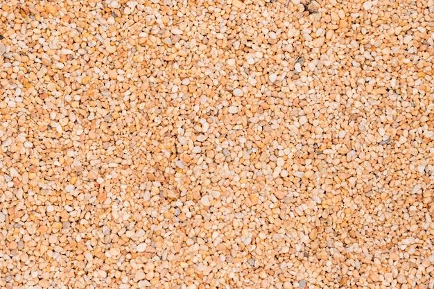 Plein cadre de petites pierres de galets