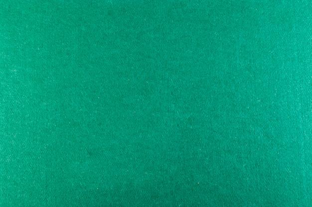 Plein cadre de la table de poker verte