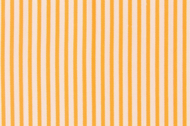 Plein cadre de textile à rayures jaunes