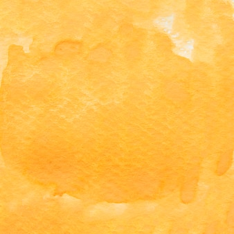 Plein cadre de toile de fond aquarelle peinte jaune