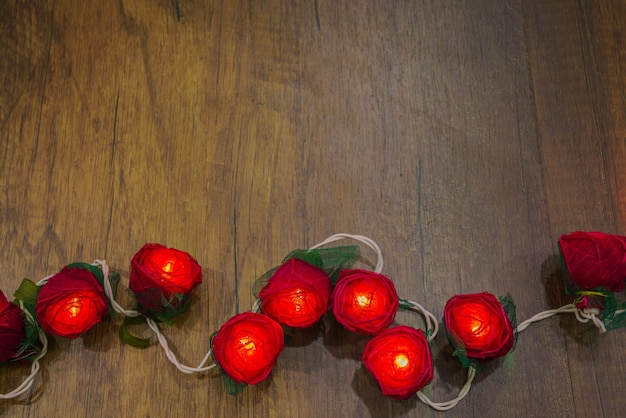 Plis vert décoration fleur texture