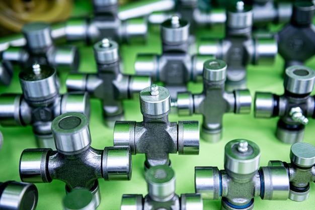 Plomberie et raccords sur fond vert