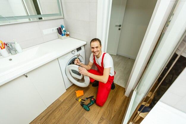Plombier réparation machine à laver