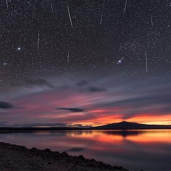 Pluie de météorites