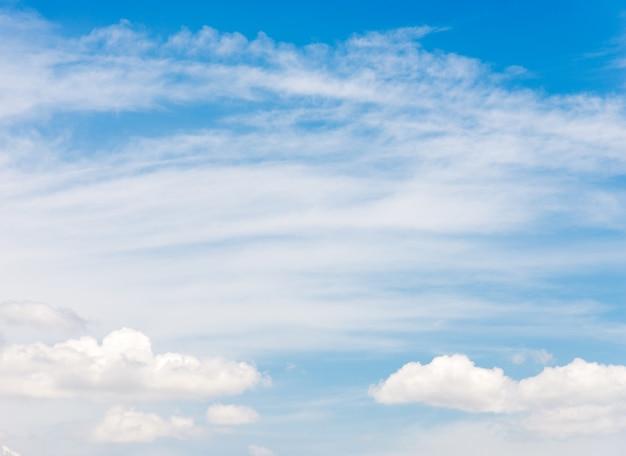 Plume légère nuage