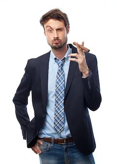 Plus léger patron de tabac brillant furieux