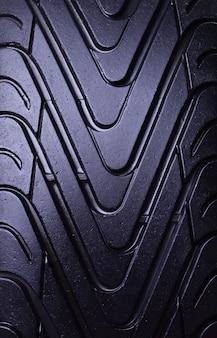 Pneu d'été pour la texture des voitures