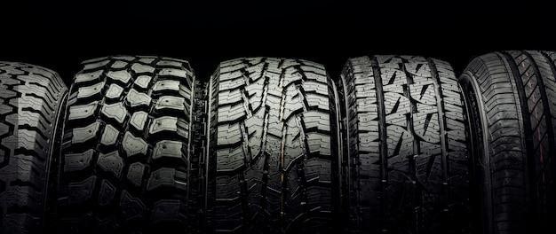 Pneus hors route et pneus pour crossovers