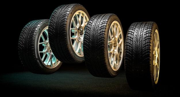 Des pneus neufs