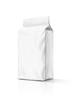 Pochette en papier d'emballage vide isolé
