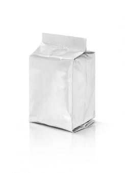 Pochette vide en aluminium isolée