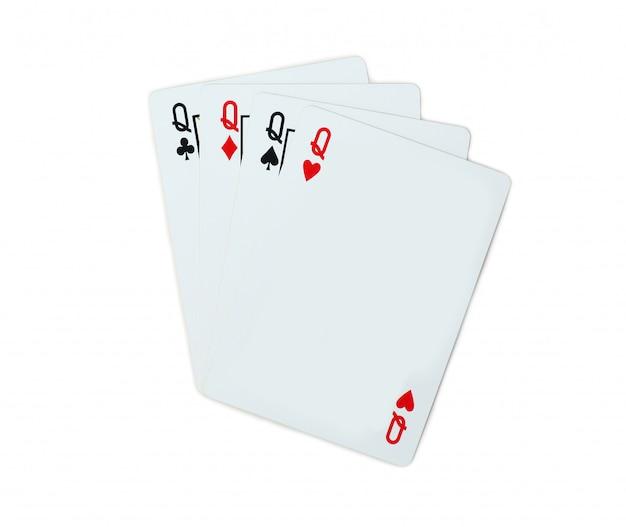 Pocket q isolé sur blanc