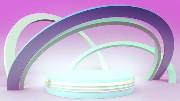 Podium cylindre