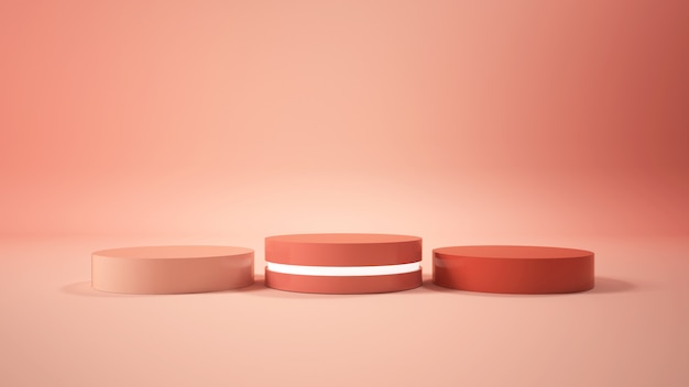 Podium minimaliste moderne