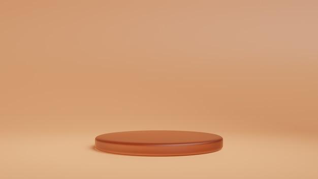Podium, support de forme géométrique