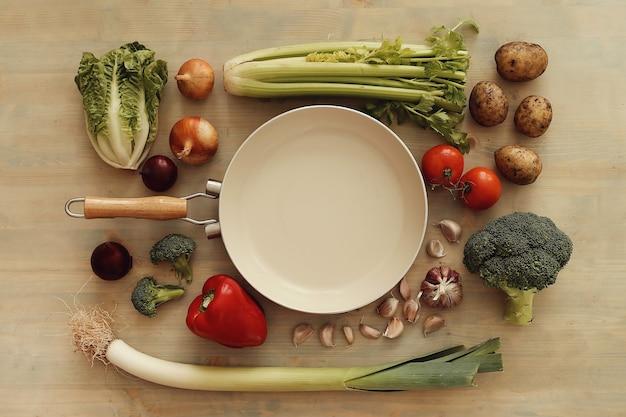 Poêle aux légumes