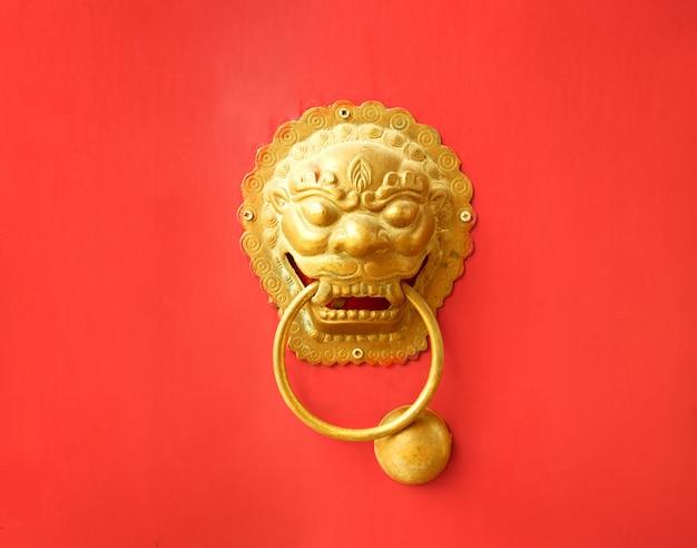 Poignée de porte chinoise