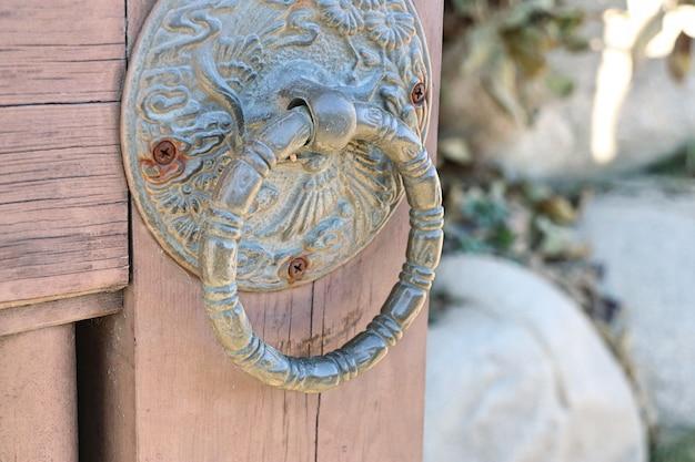 Poignées de porte en coréen traditionnel