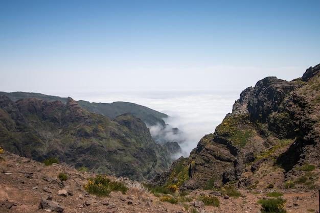 Point de vue du pico do arieiro