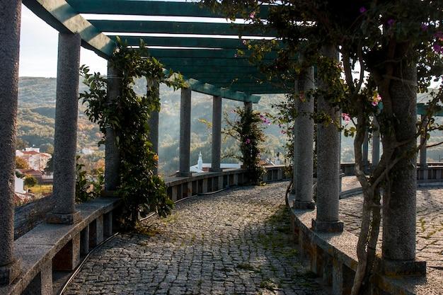 Point de vue jardin du village de monchique