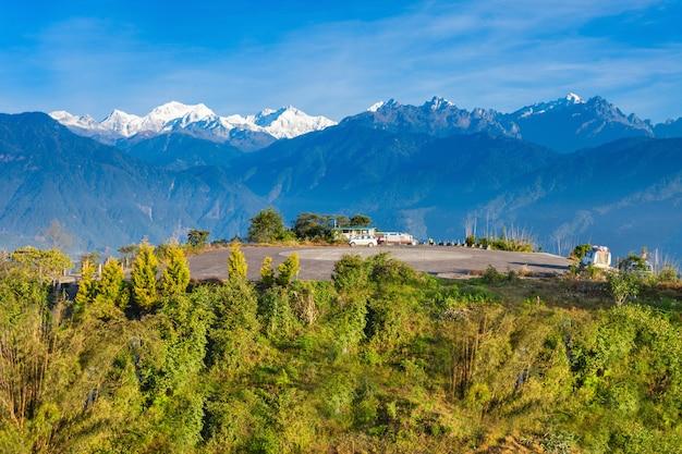Point de vue de kangchenjunga, pelling