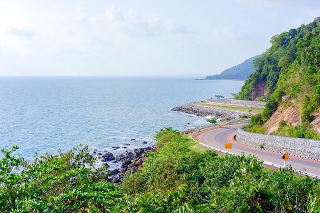 Point de vue de nang phaya, (route de chalerm burapa chollathit) chanthaburi, thaïlande