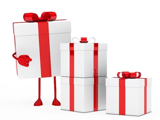 Pointage présent à d'autres cadeaux