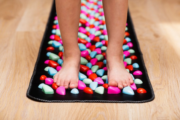 Points d'acupuncture de la stimulation du pied