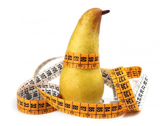 La poire a mesuré le mètre