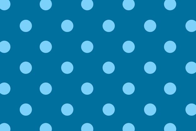 Pois bleu avec fond coloré