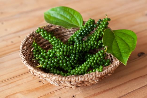 Poivre frais, produit de jardinage non chimique