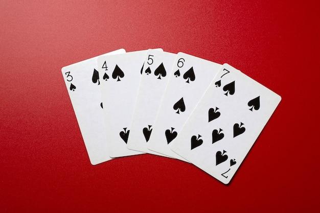 Poker à quinte flush