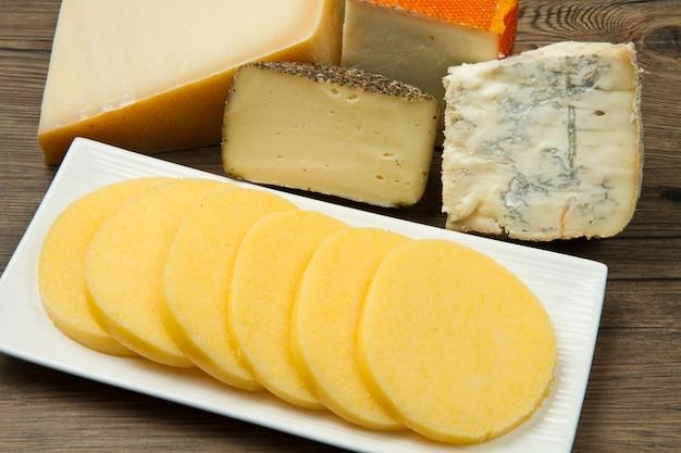 Polenta au fromage