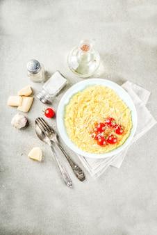 Polenta aux tomates