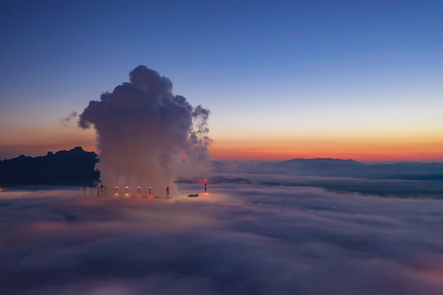 La pollution de l'air