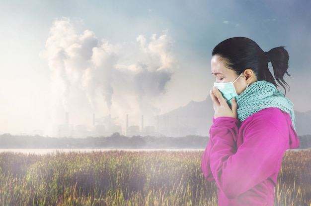 La pollution de l'air.