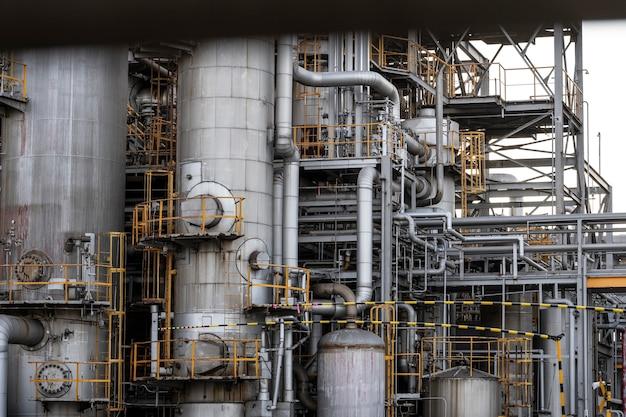 Pollution et extérieur de l'industrie à la lumière du jour