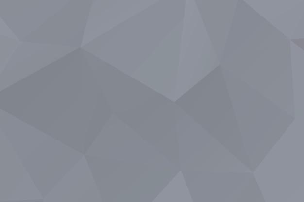 Polygone de mosaïque gris abstrait fait surface