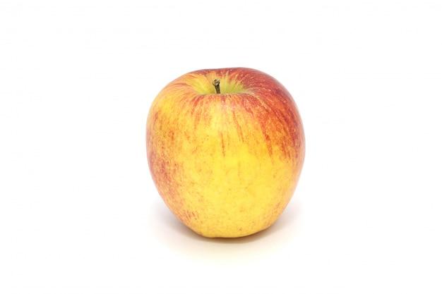 Pomme isolé sur fond blanc