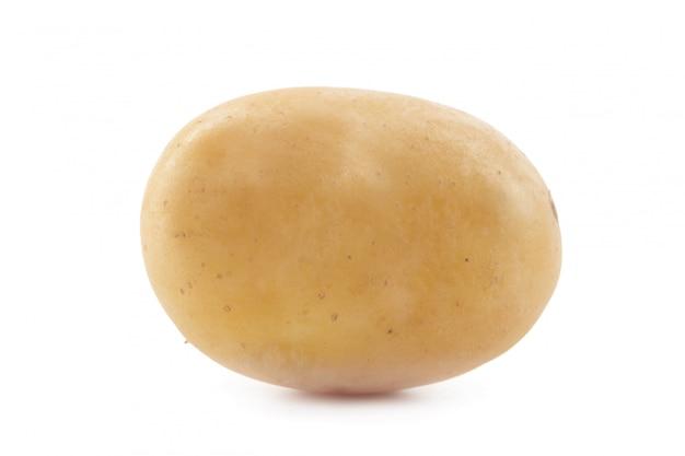Pomme de terre isolé sur blanc